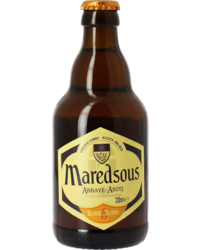 Bottled beer - Maredsous 6