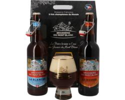 Gåvoboxar med öl och glas - Brasserie Mont Blanc Gift Pack