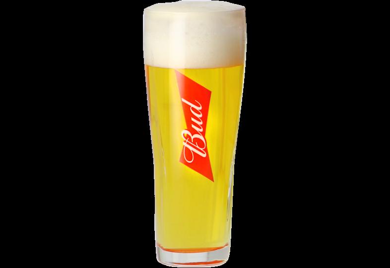 Verres à bière - Verre Bud - 33 cl