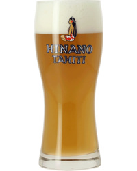 Beer glasses - glass Hinano