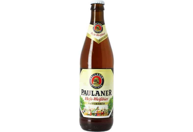 Bottled beer - Paulaner Hefe-Weifsbier