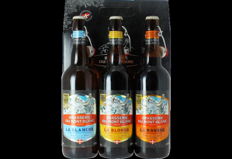 Accessoires et cadeaux - Coffret Mont Blanc (3 bouteilles 75cL)