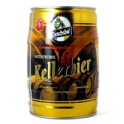 Fässer - Fass 5L Monchshof Kellerbier