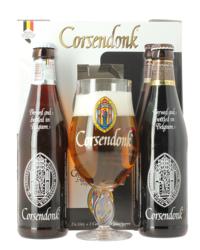 Cadeaus en accessoires - Corsendonk Giftpack - 2x33cl + 1 glas