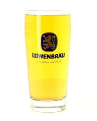Biergläser - Glas Löwenbräu