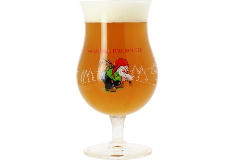 Beer glasses - Brasserie Achouffe 25cl glass