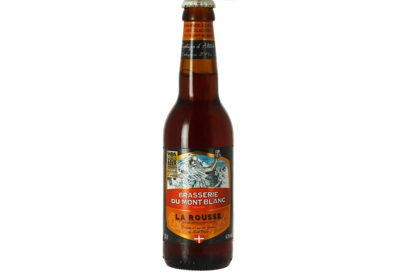 Bottled beer - Rousse du Mont Blanc 33 cl