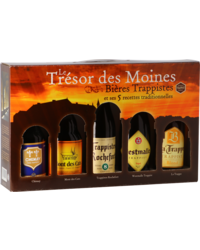 "Gift box with beer and glass - Giftpack ""De schatten van de Monniken"""