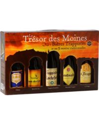 Pack regalo con cerveza y vasos - Coffret Trésor des Moines