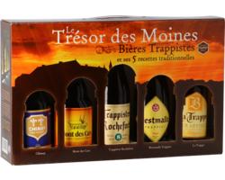 Gåvoboxar med öl och glas - Trésor des Moines Gift Pack