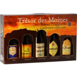 Confezione regalo con birra e bicchieri - Trésor des Moines Confezione Regalo