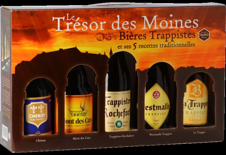 Coffrets cadeaux verre et bière - Trésor des Moines Confezione Regalo