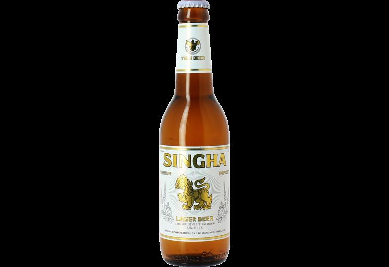 Bottled beer - Singha