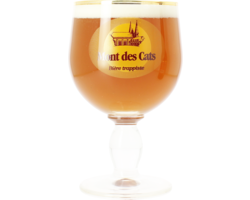Beer glasses - Trappiste Mont des Cats 33cl glass