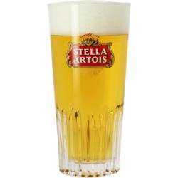 Ölglas - Stella Artois 33cl ribbed glass