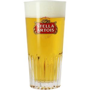 Bicchiere Stella Artois a coste - 33cl