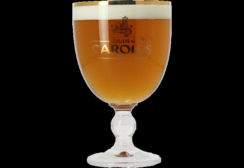 Beer glasses - Gouden Carolus 33cl glass