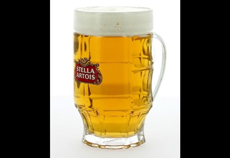 Ölglas - glass Stella Artois bock