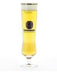 Beer glasses - glass Lowenbräu Premium Pilsener