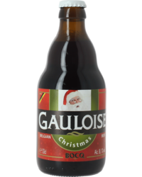 Bottled beer - Gauloise Christmas