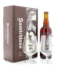 Accessoires et cadeaux - Coffret Samichlaus (1 bière 2  verres)