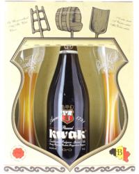 Accessoires et cadeaux - Coffret Kwak 1*75cl + 2 verres plats