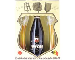 Accessoires et cadeaux - Coffret Kwak - 1 bière et 2 verres plats