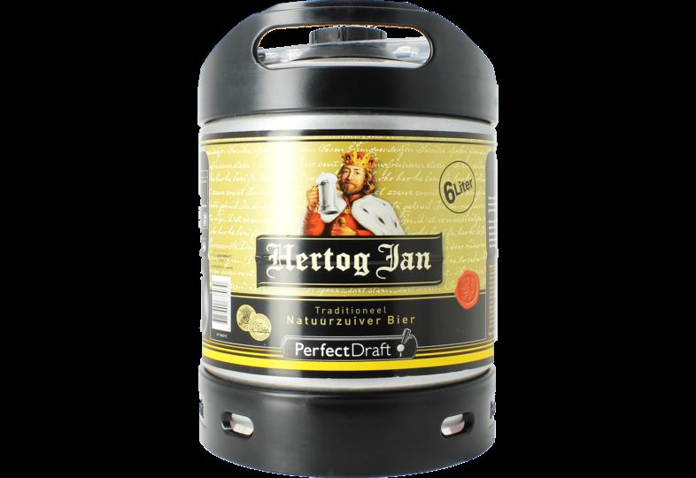 Fässer - Hertog Jan Pils 6L Perfect Draft Fass - Mehrweg