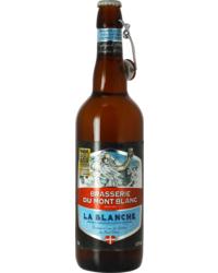 Flaschen Bier - Blanche du Mont Blanc 75cl