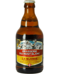 Bottled beer - Mont Blanc - Blond 33cl