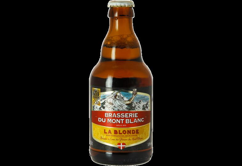 Bottled beer - Mont Blanc - Blond 33cl