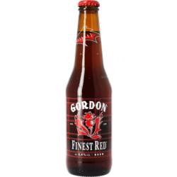 Bottled beer - Gordon Finest Red