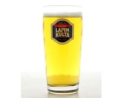 Beer glasses - glass Lapin Kulta 33 cl