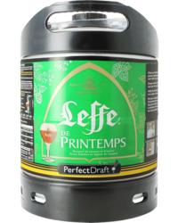 Fûts de bière - Fût 6L Leffe de Printemps