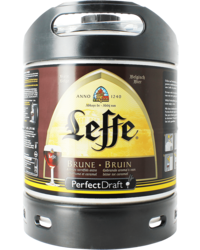 Vaten - Leffe Bruin PerfectDraft Vat 6L