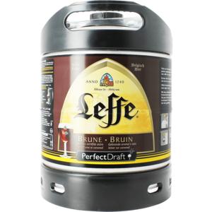 Leffe Brune PerfectDraft 6-liter Fass