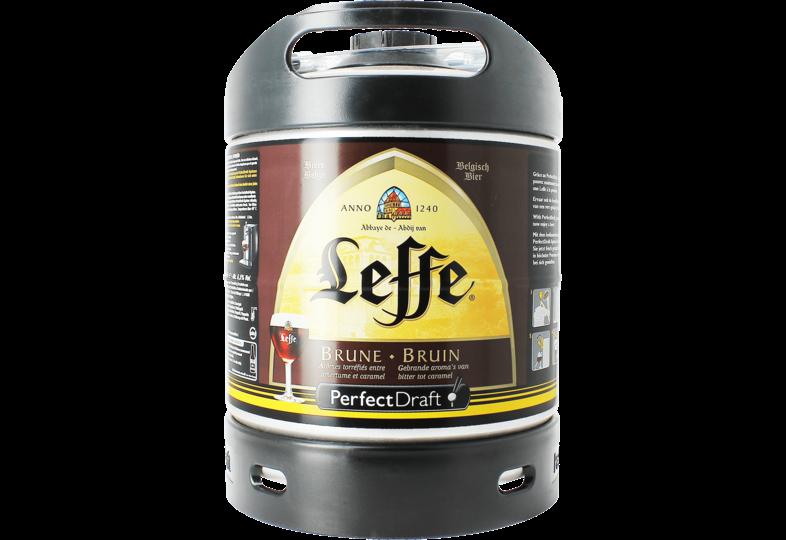Bier Tapvatjes - Leffe Bruin PerfectDraft Vat 6L