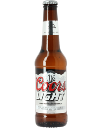 Bottled beer - Coors Light