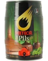 Bier Tapvatjes - 5L Meteor Pils Tapvat