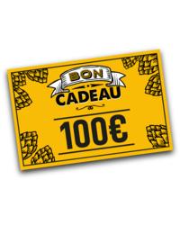 Chèque cadeaux - Tarjeta regalo de 100 euros