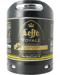 Fässer - Leffe Royale Whitbread Golding PerfectDraft Fass