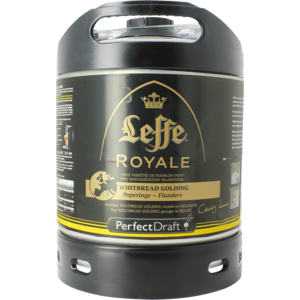Leffe Royale Whitbread Golding PerfectDraft Fass