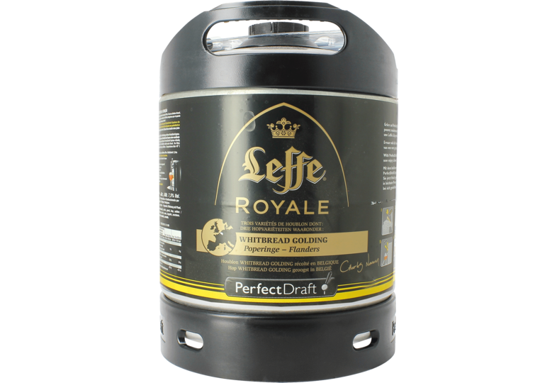Fusti - Fusto Leffe Royale Whitbread Golding PerfectDraft 6L