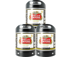 Fässer - Stella Artois PerfectDraft 6-litre Fass - 3-Pack