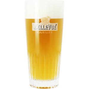 Bicchiere  a coste Belle-Vue Gueuze - 25cl