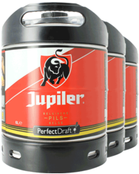 Vaten - Jupiler Pils PerfectDraft 6-Liter Tapvaatje - 3-Pack