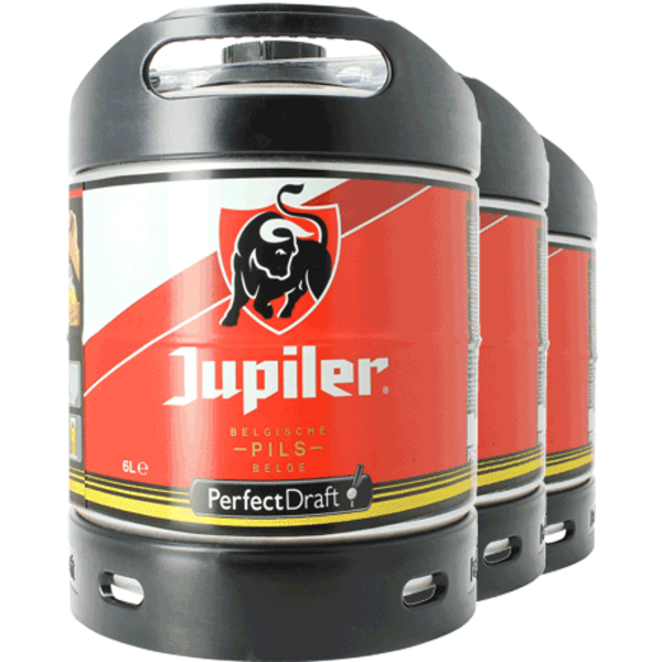 Jupiler Pils 6 litre PerfectDraft kegs - Triple Pack