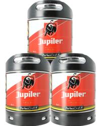 Fusti di birra - Fusto Jupiler Pils PerfectDraft 6-Litri - 3-Pack