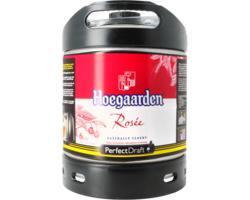 Bier Tapvatjes - Hoegaarden Rose PerfectDraft Vat 6L