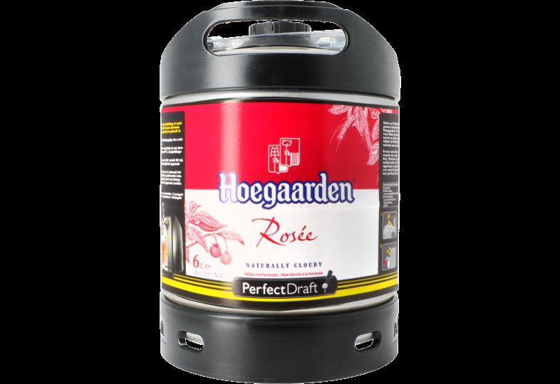 Fûts de bière - Fût 6L Hoegaarden Rosée